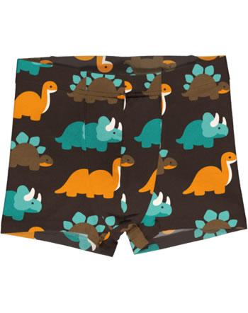 Maxomorra Boxer Shorts DINOSAURS turquoise/brown C3427-M466 GOTS