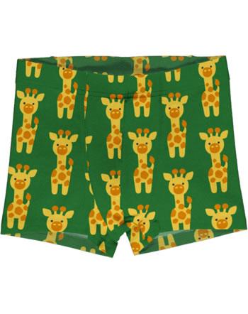 Maxomorra Boxer Shorts GIRAFFE green C3424-M466 GOTS