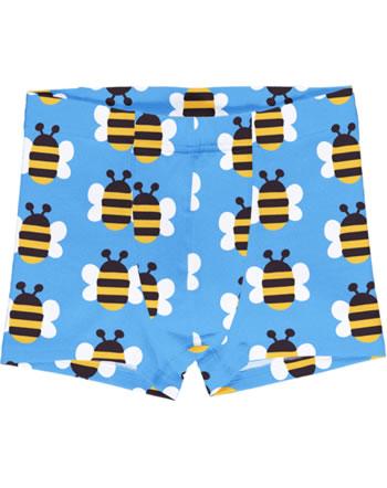 Maxomorra Boxershorts Unterhose HUMBLE BUMBLEBEE blau GOTS M466-C3343