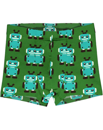 Maxomorra Boxer Shorts ROBOT green C3422-M466 GOTS