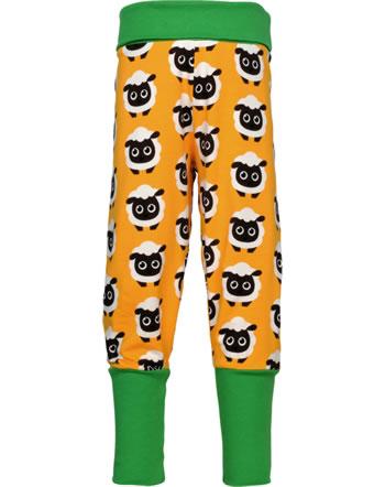 Maxomorra Pantalon CLASSIC SHEEP orange/vert C3501-M578 GOTS
