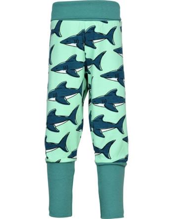 Maxomorra Pantalon SHARK vert GOTS M476-C3381