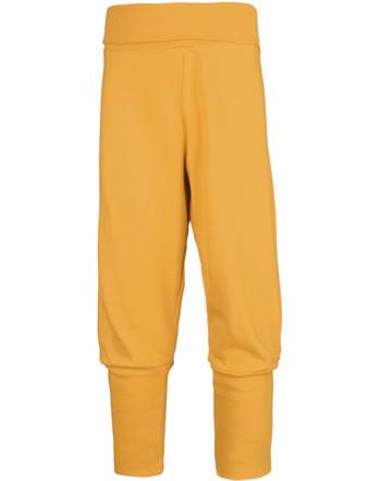 Maxomorra Pants Rib SOLID TANGERINE orange C3503-M579 GOTS