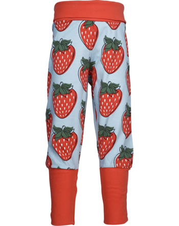 Maxomorra Bund-Hose STRAWBERRY rot GOTS M476-C3378