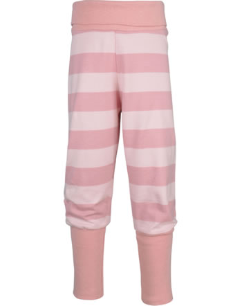 Maxomorra Bund-Hose Streifen stripe/dusty rose GOTS M526-C3369