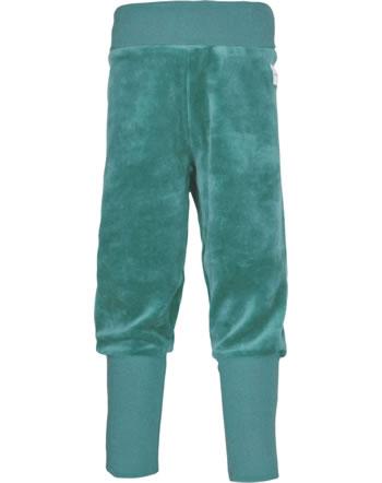 Maxomorra Bund-Hose Velour UNI arctic blue M453-D3309 GOTS