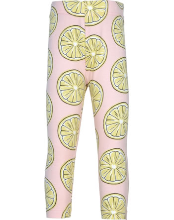 Maxomorra Capri-Leggings FRESH LEMON rosa GOTS M384-C3383