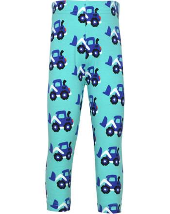 Maxomorra Capri-Leggings LOADER blau C3480-M384 GOTS