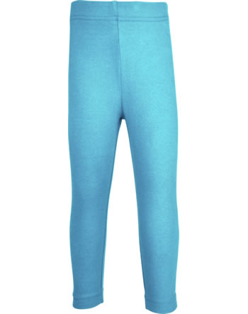 Maxomorra Capri-Leggings SOLID sky GOTS M538-C3361
