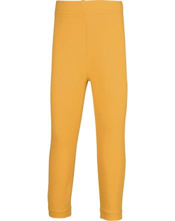 Maxomorra Leggings Cropped SOLID TANGERINE orange C3503-M590 GOTS