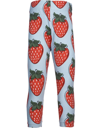 Maxomorra Capri-Leggings STRAWBERRY rot GOTS M384-C3378