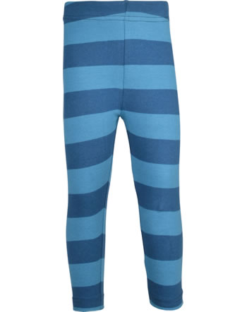Maxomorra Capri-Leggings Streifen stripe/midnight GOTS M545-C3368