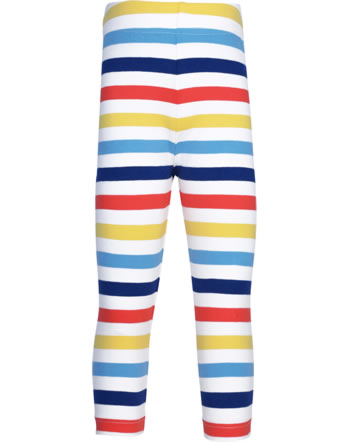 Maxomorra Capri-Leggings STRIPE MILK bunt GOTS M545-C3353
