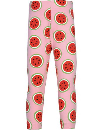 Maxomorra Capri-Leggings WATERMELON rosa GOTS M384-C3349