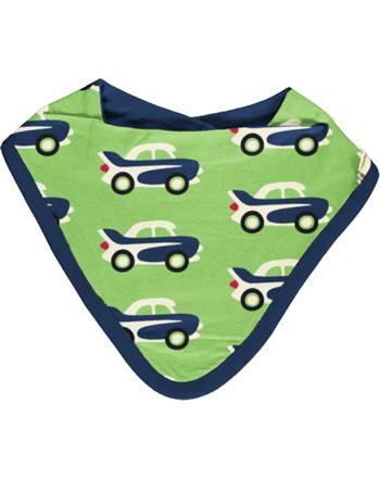 Maxomorra Bib Dribble CAR green C3474-M348 GOTS