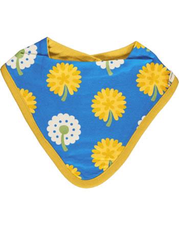 Maxomorra Bib Dribble DANDELION blue/yellow C3477-M348 GOTS