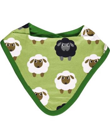 Maxomorra Dreieck-Halstuch SHEEP grün C3482-M348 GOTS
