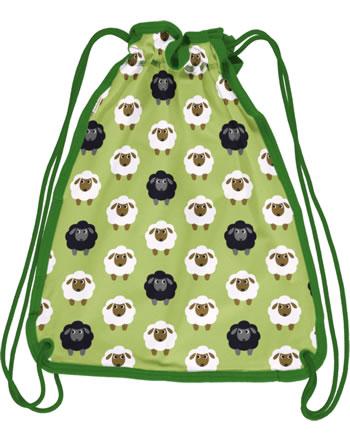 Maxomorra Gym Bag Sweat SHEEP green C3482-M563 GOTS