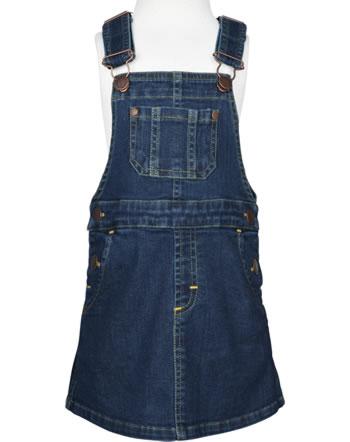 Maxomorra Robe en jean à bretelles DENIM medium dark wash C3497-M565 GOTS