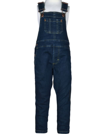 Maxomorra Jeans-Latzhose DENIM medium dark wash C3455-M559 GOTS