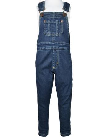 Maxomorra Jeans-Latzhose DENIM medium dark wash C3497-M559 GOTS
