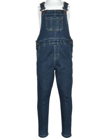 Maxomorra Jeans-Latzhose DENIM medium dark wash XAS5-52A GOTS