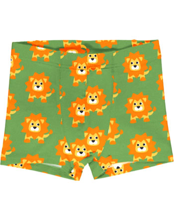 Maxomorra Boys Boxer Shorts LION green C3487-M466 GOTS