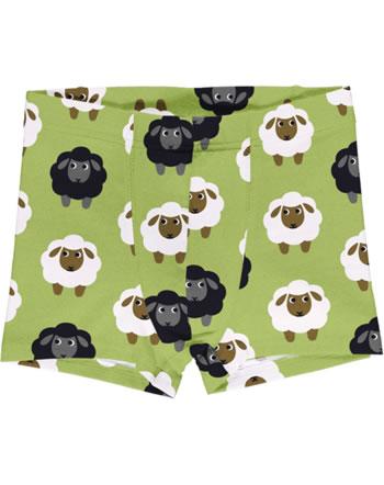 Maxomorra Boys Boxer Shorts SHEEP green C3482-M466 GOTS