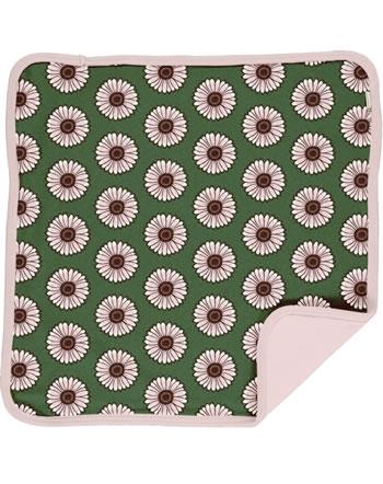 Maxomorra Cushion Cover 50x50 CALENDULA green C3433-M556 GOTS