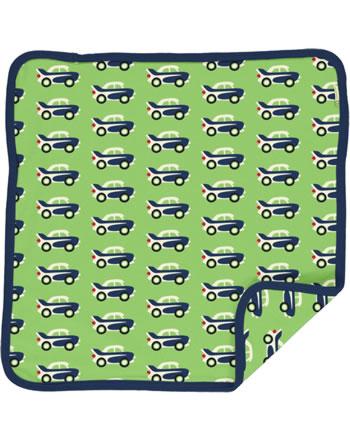 Maxomorra Kissenbezug 50x50 CAR grün C3474-M556 GOTS