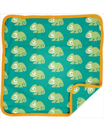 Maxomorra Cushion Cover 50x50 CHAMELEON green C3481-M556 GOTS