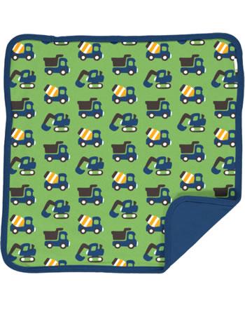 Maxomorra Cushion Cover 50x50 CONSTRUCTION green C3411-M556 GOTS