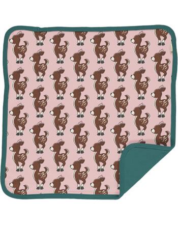 Maxomorra Cushion Cover 50x50 FAWN pink/green C3436-M556 GOTS