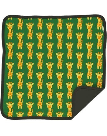 Maxomorra Cushion Cover 50x50 GIRAFFE grün C3424-M556 GOTS