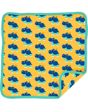 Maxomorra Cushion Cover 50x50 HIPPO yellow C3488-M556 GOTS