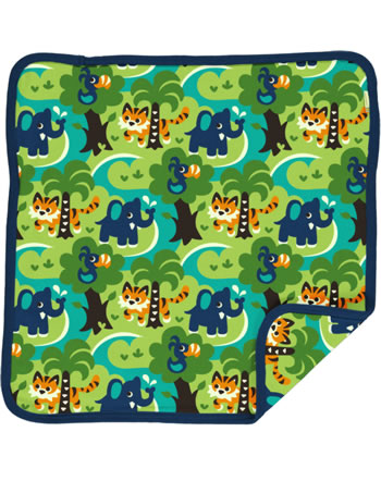 Maxomorra Cushion Cover 50x50 JUNGLE green C3473-M556 GOTS