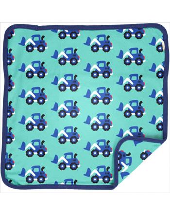 Maxomorra Cushion Cover 50x50 LOADER blue C3480-M556 GOTS