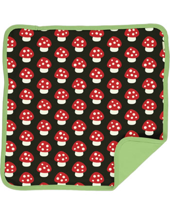 Maxomorra Cushion Cover 50x50 MUSHROOM brown/red C3414-M556 GOTS