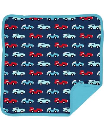 Maxomorra Cushion Cover 50x50 RACE blue/red C3426-M556 GOTS
