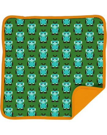Maxomorra Cushion Cover 50x50 ROBOT green C3422-M556 GOTS
