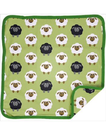 Maxomorra Cushion Cover 50x50 SHEEP green C3482-M556 GOTS