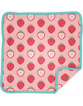 Maxomorra Cushion Cover 50x50 STRAWBERRY pink C3484-M556 GOTS