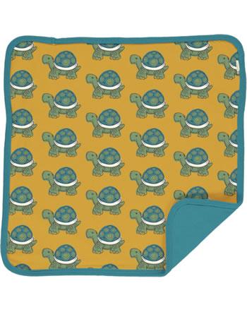 Maxomorra Cushion Cover 50x50 TORTOISE yellow C3419-M556 GOTS