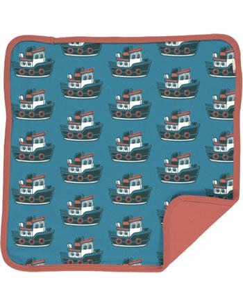 Maxomorra Cushion Cover 50x50 TUGBOAT blue C3431-M556 GOTS
