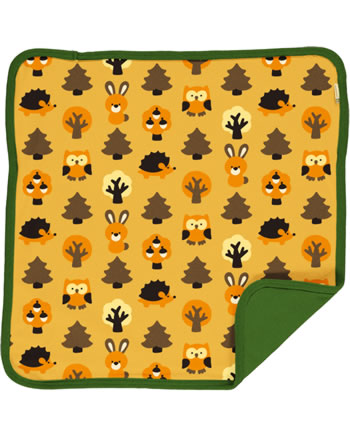 Maxomorra Kissenbezug 50x50 YELLOW FOREST gelb C3423-M556 GOTS