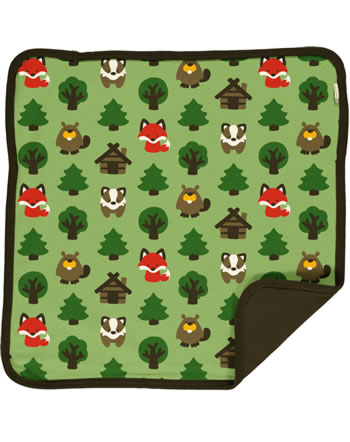 Maxomorra Kissenbezug GREEN FOREST grün C3408-M556 GOTS