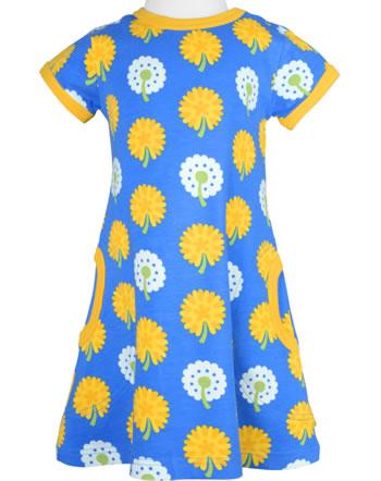 Maxomorra Robe manches courtes DANDELION bleu/jaune C3477-M355 GOTS