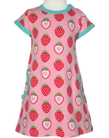 Maxomorra Robe manches courtes STRAWBERRY rosé C3484-M355 GOTS