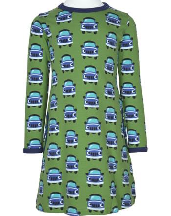 Maxomorra Kleid Langarm CAR grün XA12-07A GOTS