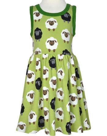 Maxomorra Kleid Träger SHEEP grün C3482-M541 GOTS